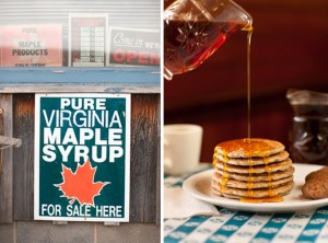 Sweet Highland County Maple Syrup at the Bolar Ruritan Club (Photo courtesy Jeff Greenough)