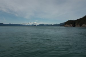 Fairweather Range from Icy Strait