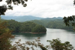 Fontana Lake, courtesy French C. Grimes