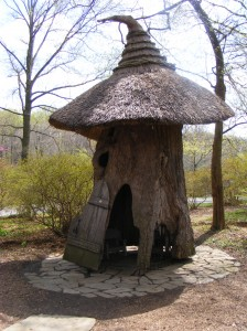 A hut for trolls?