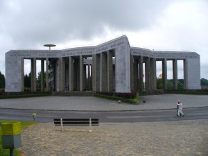 American Memorial commemorating the Battle of the Bulge