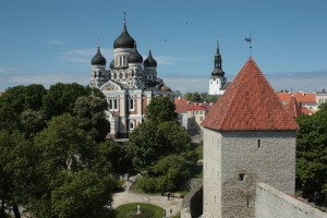 Andrew Nevsky Cathedral and Town Wall