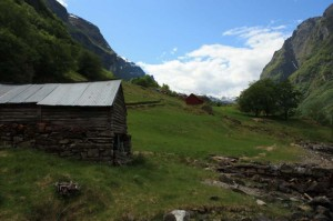 The farm near Gundevagen that served as our Fjord Norway headquarters