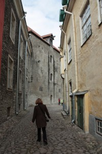 Walking the streets of Tallinn's Old City