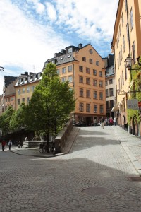 The beautiful streets of Gamle Stan