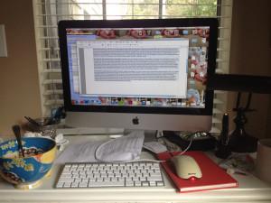 My serene work environment....