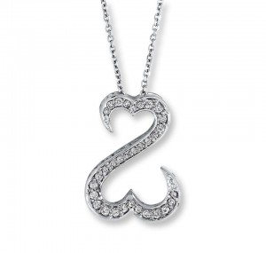 Courtesy of Kay Jewelers--What is this supposed to be? A heart? A serpent? Boobs and a butt?