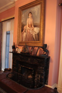 "Portrait of ""Daisy"" at her home in Savannah"
